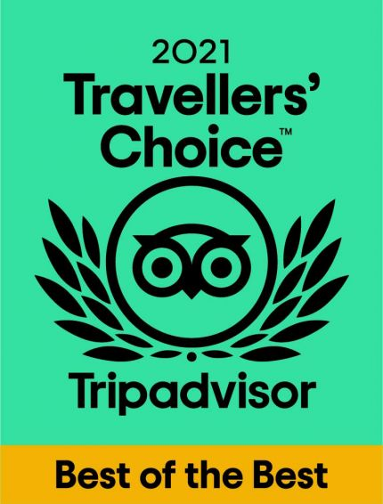 Read: Tripadvisor travellers choice Best of the Best 2021