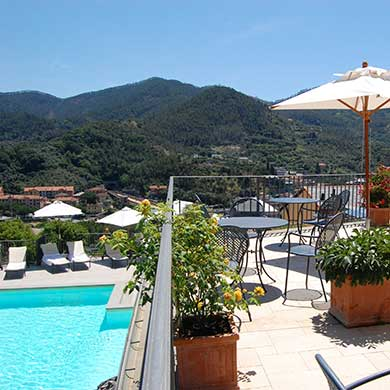Facilities At Park Hotel Argento Resort Spa Levanto Pool